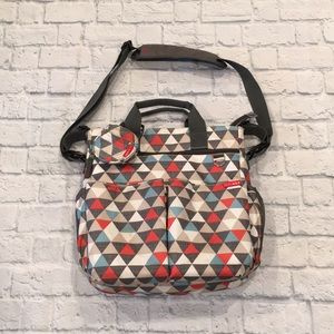 Skip Hop | Triangle Print Diaper Bag